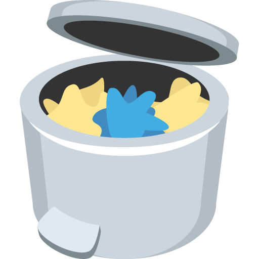 Wastebasket Emoji