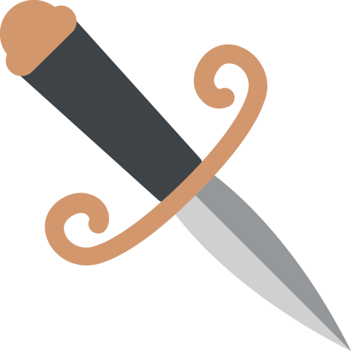 Dagger Knife Emoji
