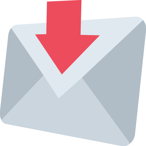 Envelope With Downwards Arrow Above