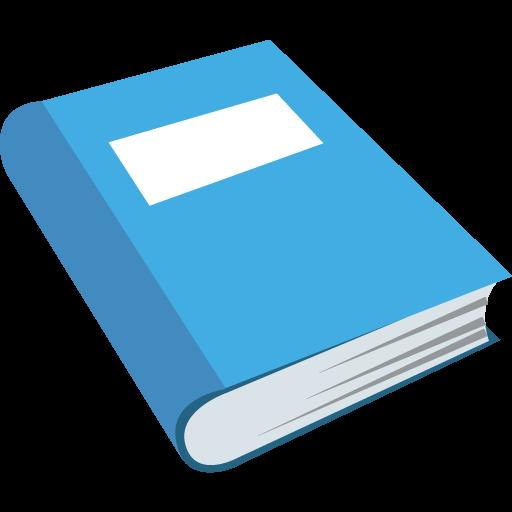 Blue Book Emoji