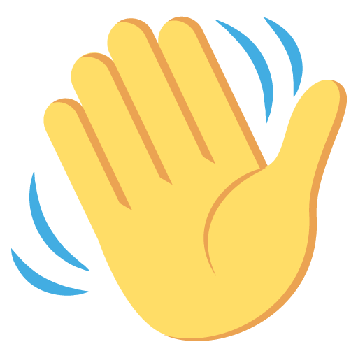 Waving Hand Sign Emoji