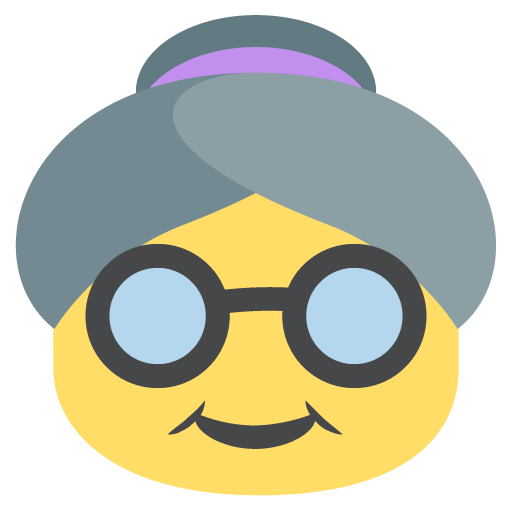 Older Woman Emoji