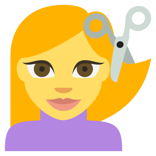 haircut emoji for facebook  email  u0026 sms
