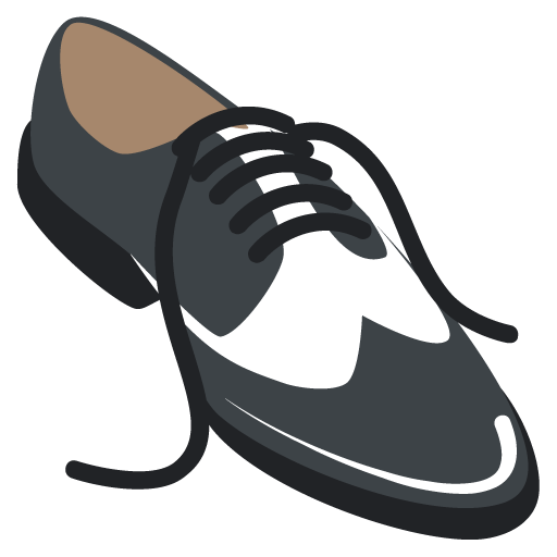 Mans Shoe Emoji