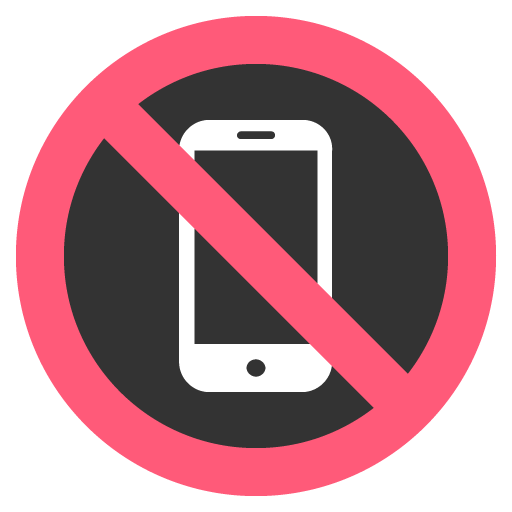 No Mobile Phones