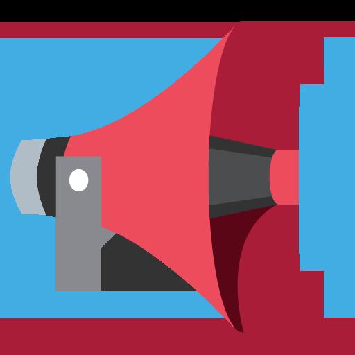 Public Address Loudspeaker Emoji