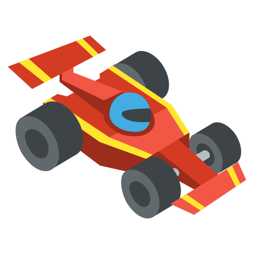 Racing Car Emoji
