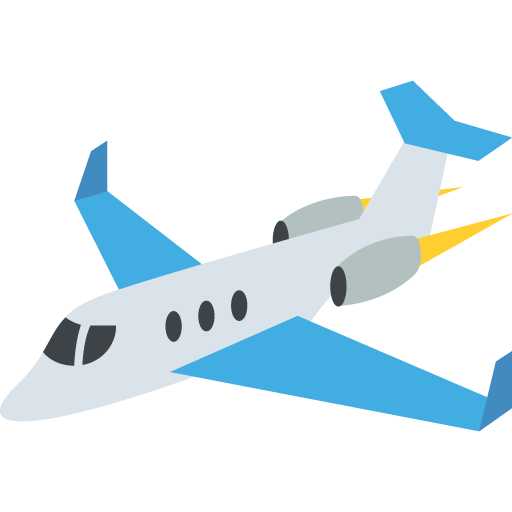 Small Airplane Emoji