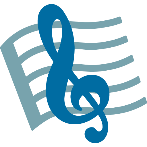 Musical Score Emoji