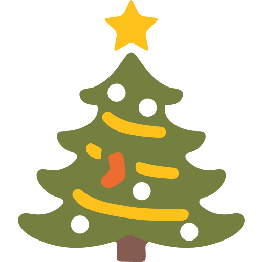 Christmas Tree Emoji for Facebook, Email & SMS | ID#: 7472 | Emoji ...