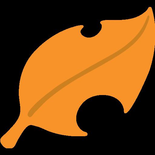 Fallen Leaf Emoji