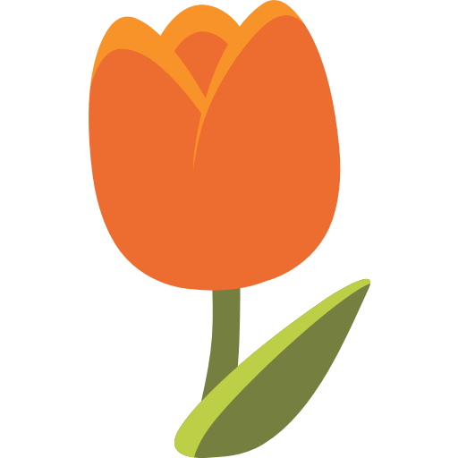 Tulip Emoji