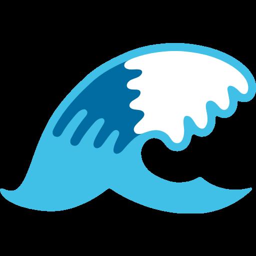 water wave emoji for facebook  email  u0026 sms