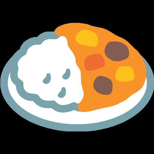 Curry And Rice Emoji