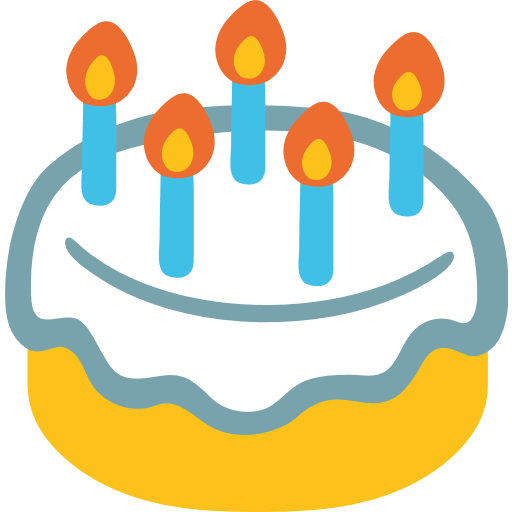 Birthday Cake Emoji For Facebook Email SMS
