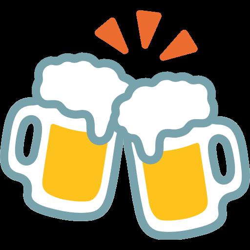 Clinking Beer Mugs Emoji