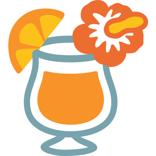 Tropical Drink Emoji