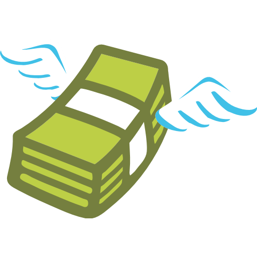 Money With Wings Emoji