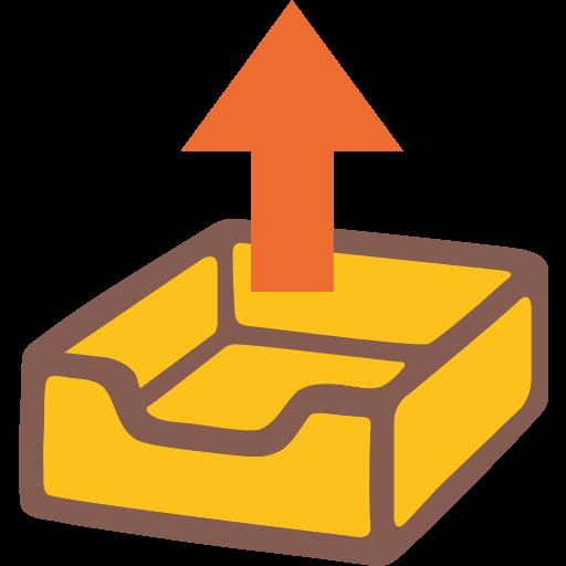Outbox Tray Emoji