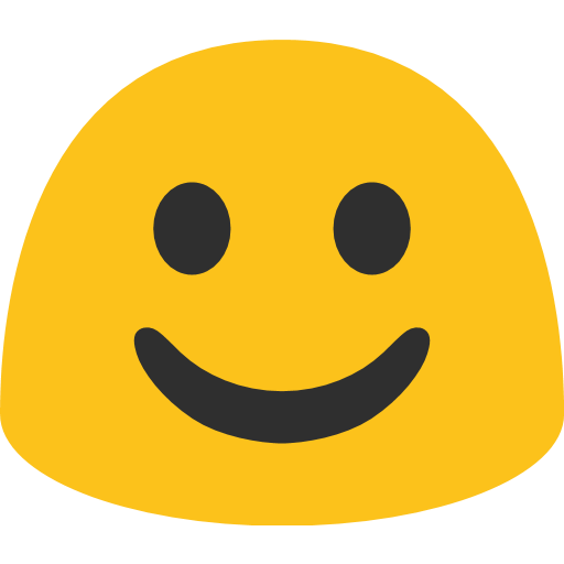 White Smiling Face Emoji