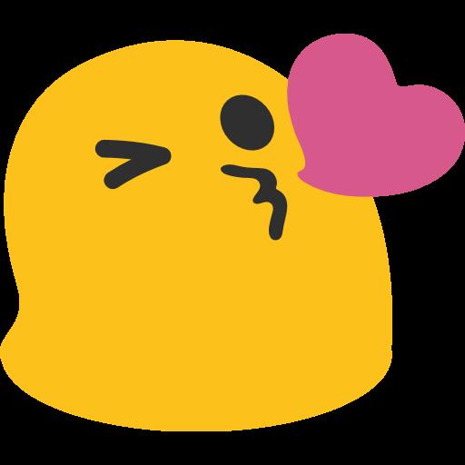 Face Throwing A Kiss Emoji