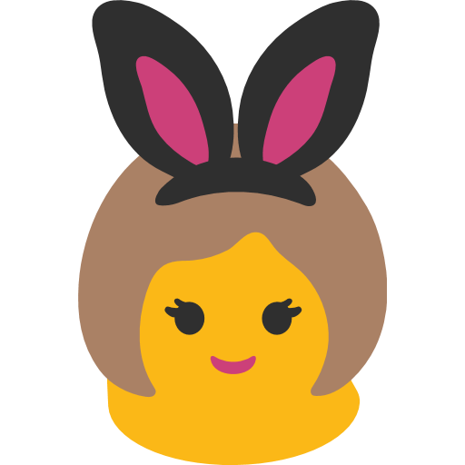 Woman With Bunny Ears Emoji