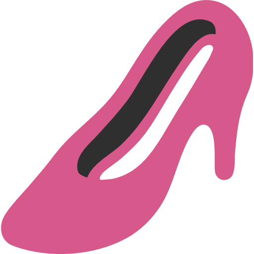 High-heeled Shoe Emoji