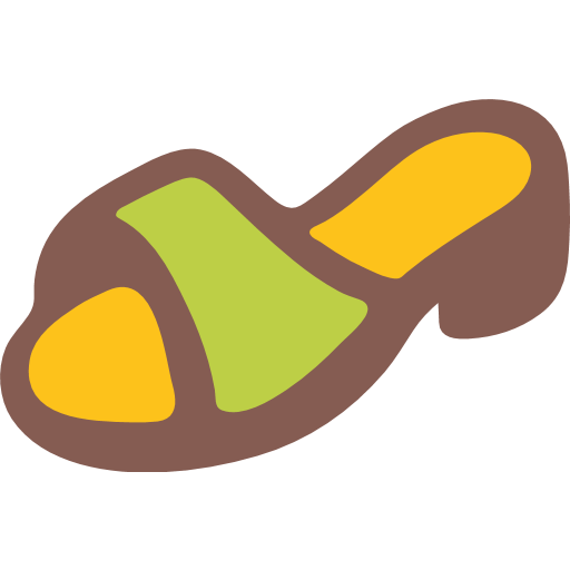 Womans Sandal Emoji