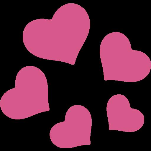 Revolving Hearts Emoji