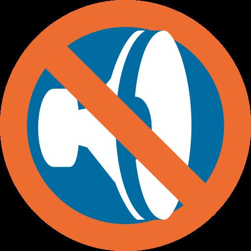 Speaker With Cancellation Stroke Emoji