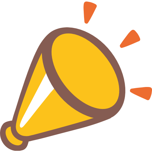 Cheering Megaphone Emoji