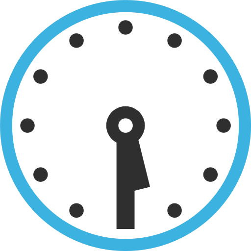 Clock Face Five-Thirty Emoji