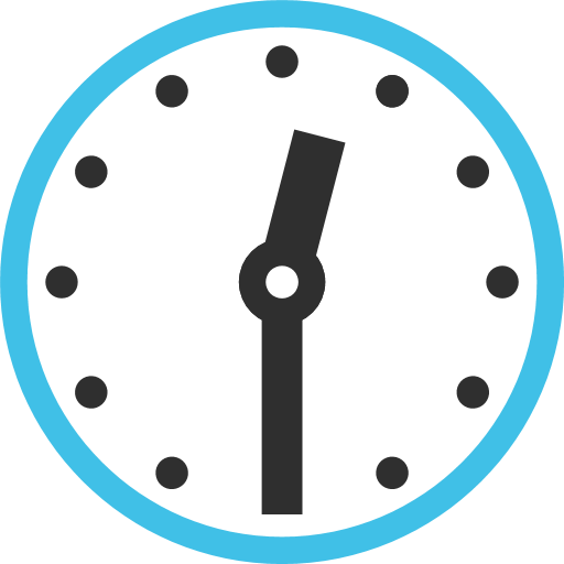 Clock Face Twelve-Thirty Emoji