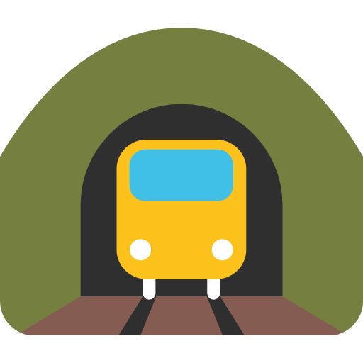 Mountain Railway Emoji