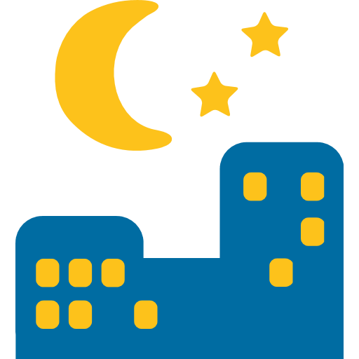 Night With Stars Emoji