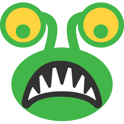 Alien Monster Emoji