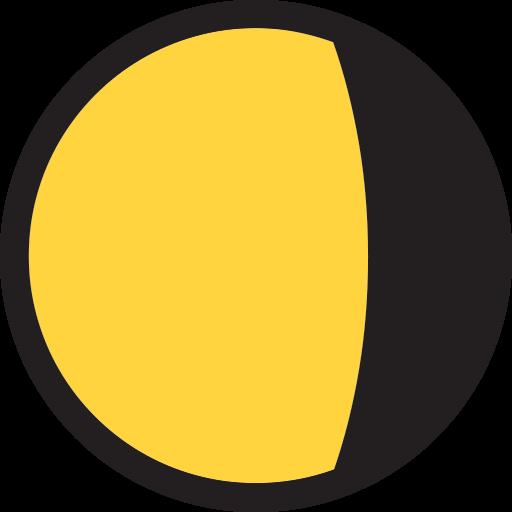 Waning Gibbous Moon Symbol Emoji