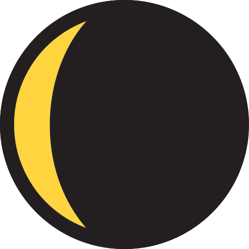 Waning Crescent Moon Symbol Emoji For Facebook Email Sms Id
