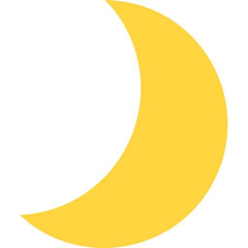 Crescent Moon Emoji
