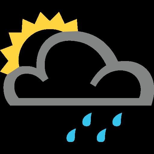 White Sun Behind Cloud Emoji