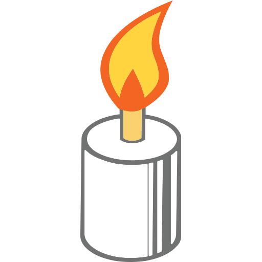 Candle Emoji for Facebook, Email & SMS | ID#: 9756 | Emoji co uk
