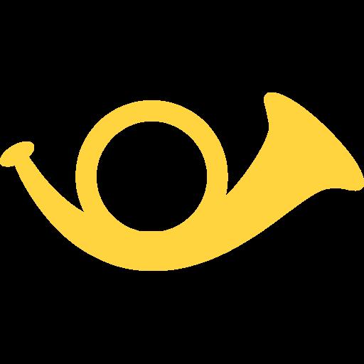 Postal Horn Emoji