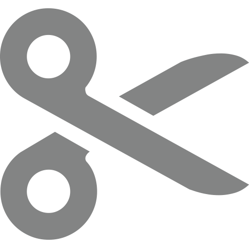 Black Scissors Emoji