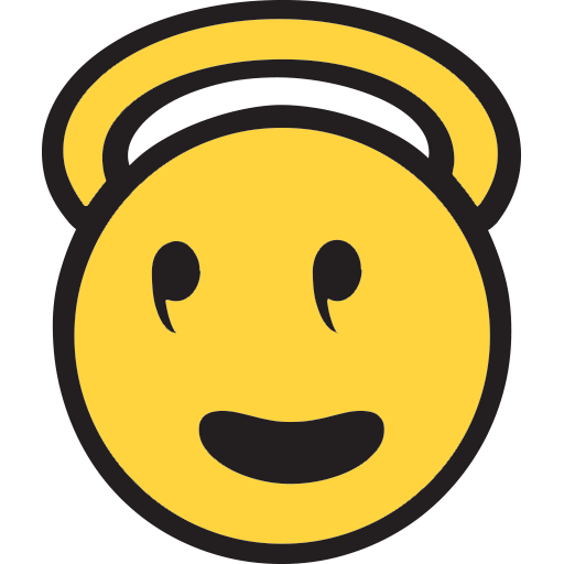 Smiling Face With Halo Emoji