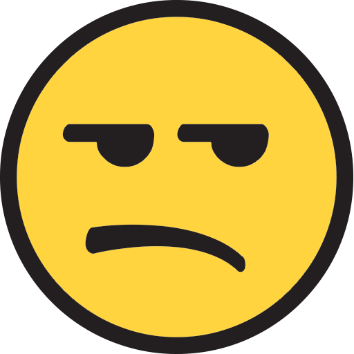 Unamused Face Emoji for Facebook, Email & SMS | ID#: 9920 | Emoji ...