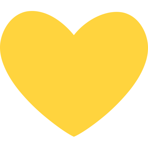 List of Windows 10 Symbol Emojis for Use as Facebook ... Yellow Heart Emoji