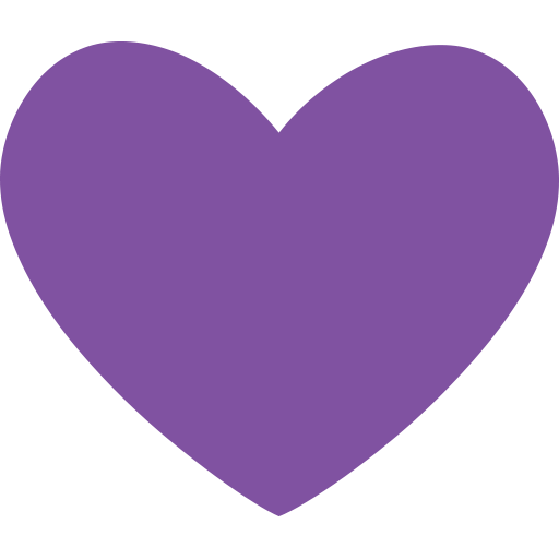 Image result for heart button purple png