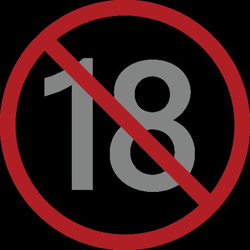 No One Under Eighteen Symbol Emoji