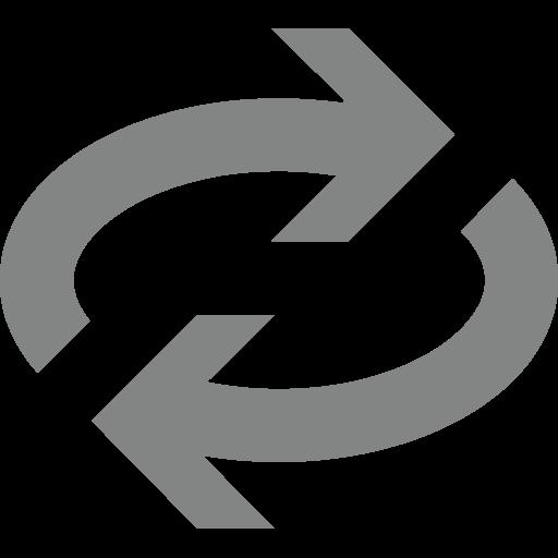 Clockwise Rightwards And Leftwards Open Circle Arrows Emoji