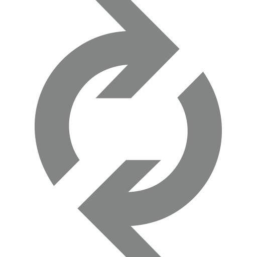 Clockwise Downwards And Upwards Open Circle Arrows Emoji
